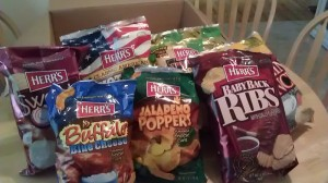 Your Favorite Foods As Chips Herr's Review