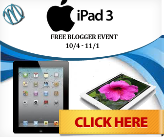 Free Blogger Opp iPad Giveaway Event