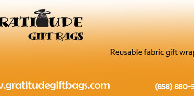 Gratitude Gift Bags , Eco Friendly Fabric Gift Bags Review