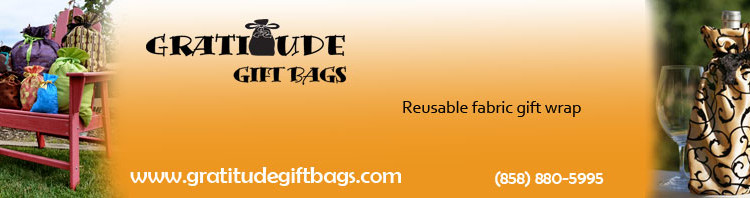 Gratitude Gift Bags , Eco Friendly Fabric Gift Bags Review  Product Review Cafe 1