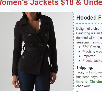 Super HOT Deal on Cute Women's Coats! Over 60% off