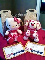 Build-A-Bear Valentine's Day Special Edition Hello Kitty Hugs-a-Plenty Dog