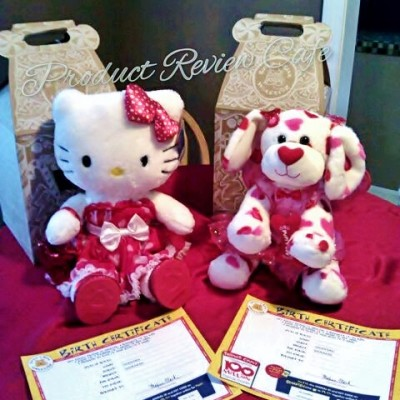 Build-A-Bear Valentine's Day Special Edition Hello Kitty Hugs-a-Plenty Dog