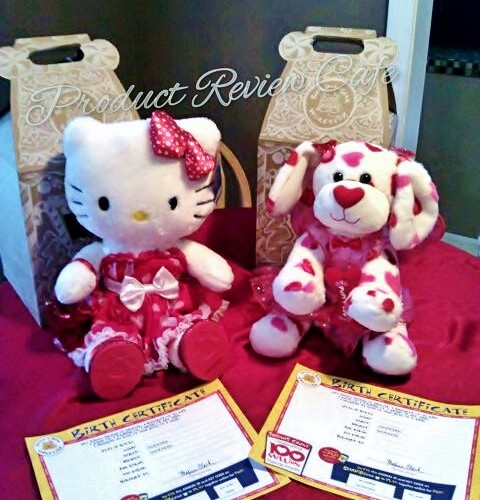 Build-A-Bear Valentine's Day Special Edition Hello Kitty Hugs-a-Plenty Dog  Product Review Cafe 5