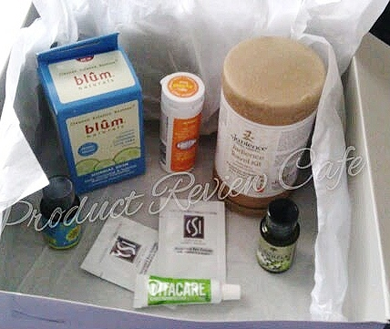 Be Well Monthly Subscription Box from Vitacost Review And Giveaway  Product Review Cafe 3