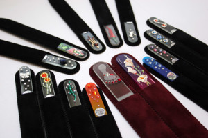 Czech Glass Nail Files , Beautiful and Beneficial to your nails