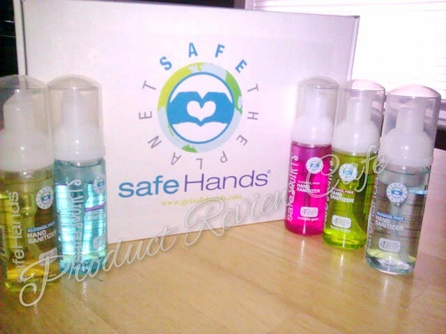 safeHands Alcohol Free Hand Sanitizer Product Review