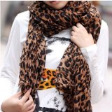 Super cute, REALLY Inexpensive Leopard Print Scarf!  $3.46 plus FREE Shipping