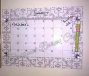 The Dry Erase Peel & Stick Wall Calendar from WallPops – Review