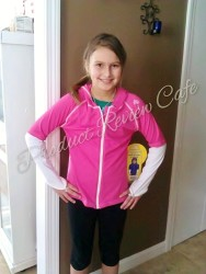 Girl's Zip Hoodie Rash Guard by SunSkinz Product Review