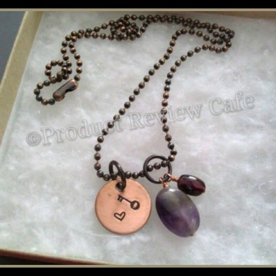 Handstamped Copper Jewelry Pieces By BamaRy Product Review  Product Review Cafe 2