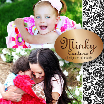 Minky Couture Designer Blankets Review & Giveaway