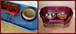 A Neat Way To Keep Your Pet's Food Area Clean -Neater Feeder Review