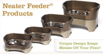 A Neat Way To Keep Your Pet's Food Area Clean -Neater Feeder Review  Product Review Cafe 5