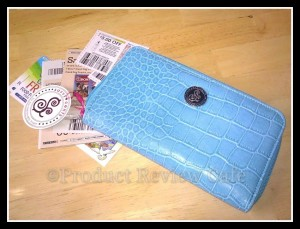 SavvyCents Wallet For The Fashionably Frugal Product Review  Product Review Cafe 1