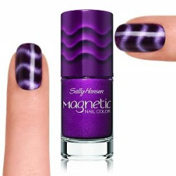 Simple Nail Art With Sally Hansen Magnetic Nail Polish Product Review