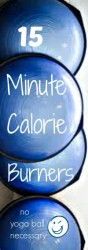 15 Minute Calorie Burning Fitness- How To Get Fit Quick Right At Home