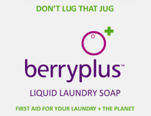 Berryplus Eco Effective Laundry Soap Review & Giveaway