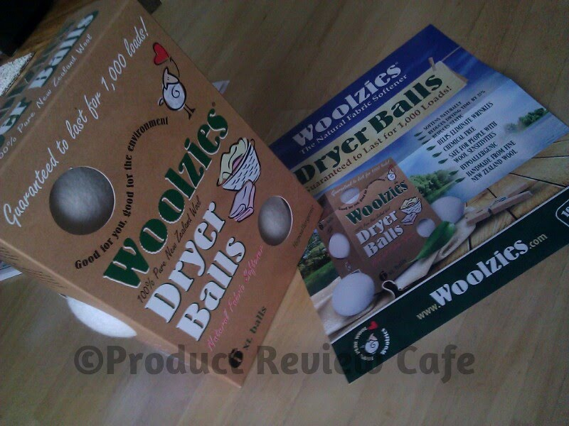 Woolzies All Natural Dryer Balls Product Review & Giveaway