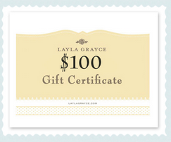 Chance To Win $100 Layla Grayce Gift Card & More