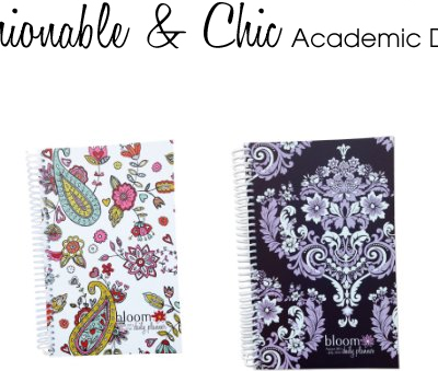 bloom Fashion Daily Planners Giveaway