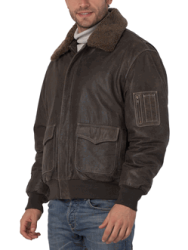 Leather Bomber Jackets From Landingzone.com  Product Review Cafe