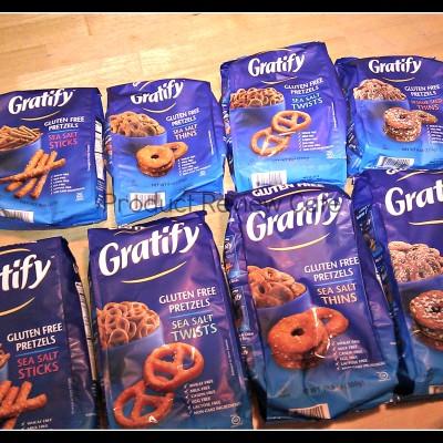 Gratify Gluten Free Pretzels Prize Pack Giveaway