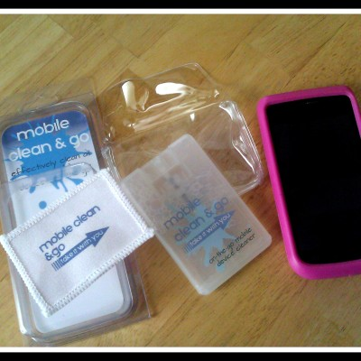 Bye Bye Finger Prints – Mobile Clean & Go Product Review