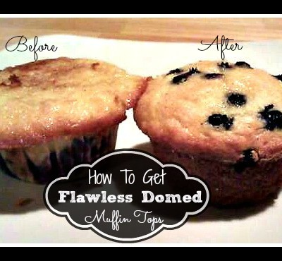 Easy Flawless Way To Get Domed Muffin Tops