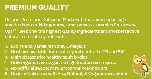 SmartyPants Adult & Children Gummy Vitamins- Product Review