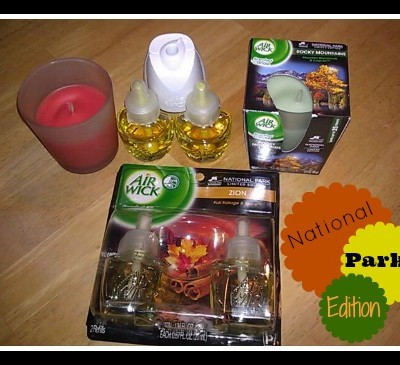 Airwick Seasonal Scents & National Parks Edition Review