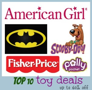Top 10 Toy Deals Up To 60% Savings