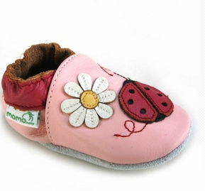 Baby's First Real Pair of Shoes from Momobaby.com