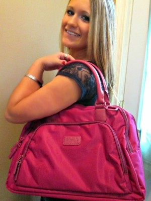 Lipault Paris Supports Breast Cancer Awareness- Travel Tote Review