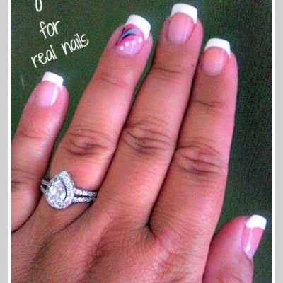 How To Do Your Own French Manicure in 5 Minutes- Natural Nails