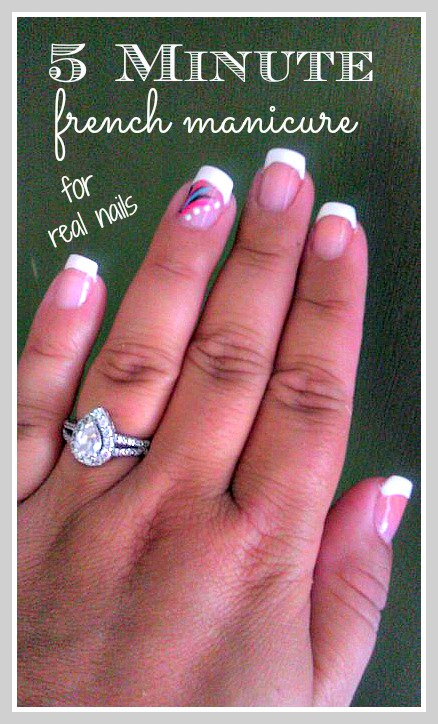 Your Own French Manicure 15