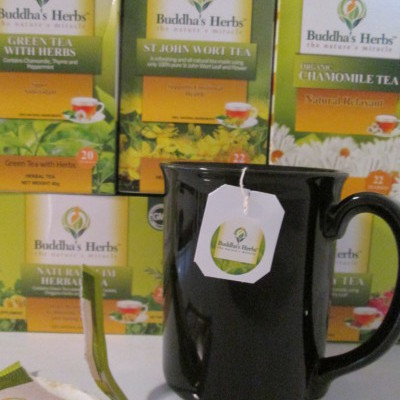 Nature's Miracle Herbal Teas from Buddhas Herbs