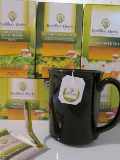 Nature's Miracle Herbal Teas from Buddhas Herbs  Product Review Cafe 2