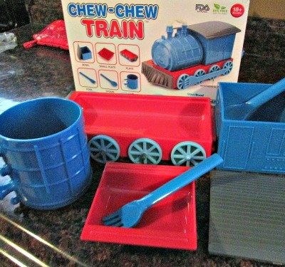 Chew Chew Train & Fireplace Scented Candle From Vat19