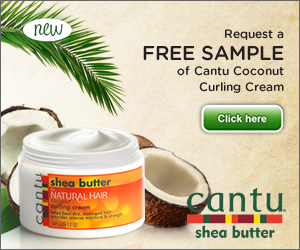 FREE Sample of Cantu Coconut Butter !