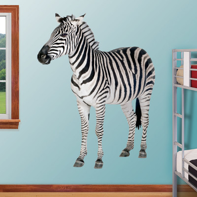 Zebra Fathead Wall Decal Product Review & Giveaway