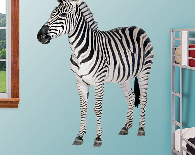 Zebra Fathead Wall Decal Product Review & Giveaway  Product Review Cafe 5