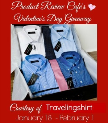 Travelingshirt Case Valentine's Day Giveaway RV $130