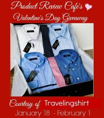 Travelingshirt Case Valentine's Day Giveaway RV $130