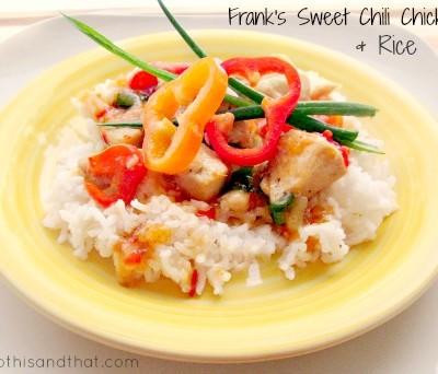 Frank's Sweet Chili Sauce Chicken & Rice Recipe