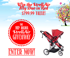 HipMama StrollAir Giveaway  $799 Value