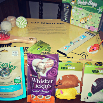 Customized Cat Products Delivered – Purr Packs Review & Giveaway