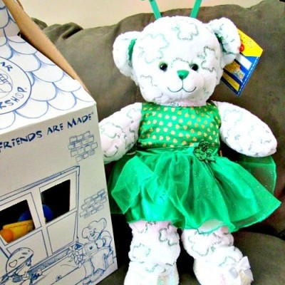 Build A Bear Workshop Shimmerin' Shamrocks Bear