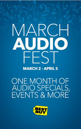 March Is Audio Fest At Best Buy Check Out The Wireless JBL Speaker