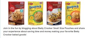Betty Crocker Pouches Prize Pack Giveaway